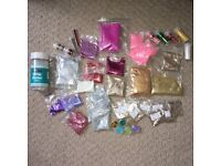 Glitter bundle craft diy scrapbooking small business startup stationary supplies