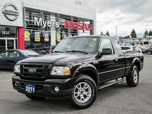 2011 Ford Ranger Fx4 Off Road 4WD! LOW KM, auto with A/c .. Hurr