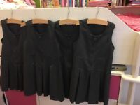 5x Girls Marks and Spencer Grey pinafore uniform bundle 5-6 EXCELLENT NW6/Gunnesbury