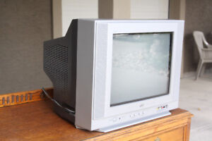 14 inch JVC TV with remote