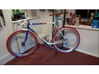 Refurbished Vintage Road Bike Fixed Wheel Flip Flop Hub Single Speed