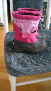 Columbia winter boots toddler size 10