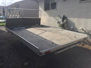 12' Aluma Snowmobile Trailer