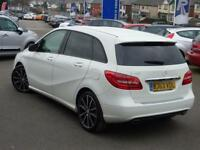 MERCEDES-BENZ B CLASS 1.6 B180 BLUEEFFICIENCY SPORT 5d 122 BHP (white) 2013