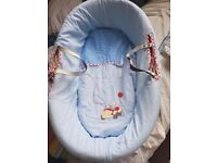 baby clearout moses basket , in the night garden toys , nappy bin antrim