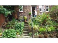 1 bed garden flat for kemptown or hove