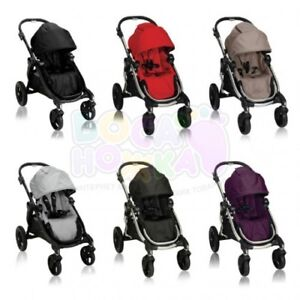 City select jogger stroller second seat