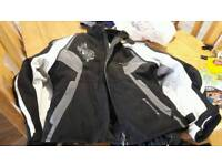 Ladies size small motorbike jacket