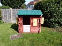 Little Tikes Log Cabin, Good Condition