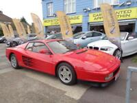 1989 G FERRARI TESTEROSSA 4.9 FLAT 12 COUPE RHD UK SUPPLIED