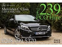 NEW PCO Mercedes C Class AMG LINE SPORT Automatic - - Rent/ Hire UBER ready - upgrade your prius