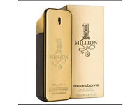 Mens Paco Rabanne 1 Million 100ml *Brand New and Sealed*