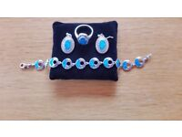Turkish Sterling Silver Jewellery Set
