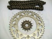 Honda xr 250/400 ,DID 520 ,`O` ring chain and sprockets .