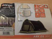 2/3 person Vango Ark DS 300 tent just £30