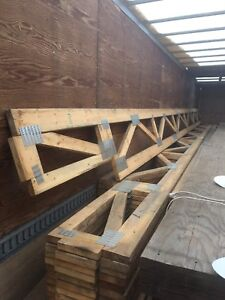40' X 80' FLOOR OR ROOF TRUSSES