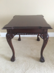 Chippendale cocktail and End Tables