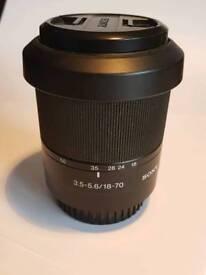 Sony Digital SLR lens