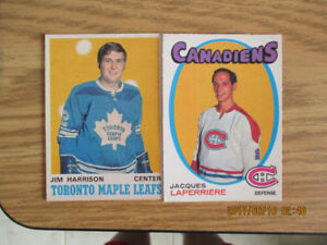 1970-71 O-Pee-Chee Hockey Cards Lot of 258  $500