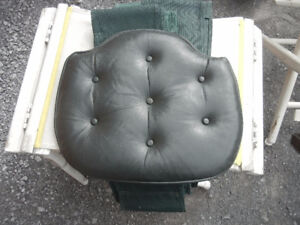 Leather Seat Cushion - Vented