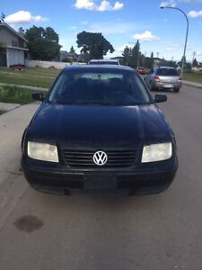 2001 Volkswagen Jetta ! 204000km price reduced need gone!