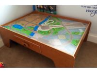 Wooden play table by ELC
