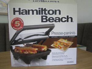 Hamilton Beach Panini Press