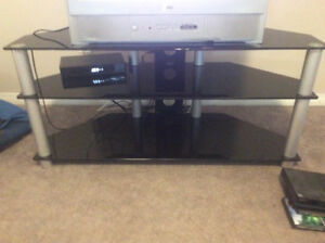 Glass TV Stand in great Condition!! $50 or best offer!!