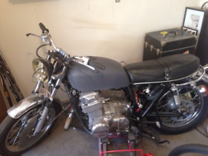 Nearly completed 1973 CB750 project