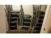 Chrome chairs for sale