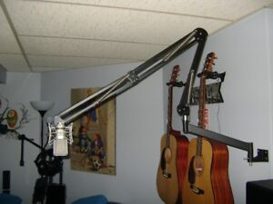 O.C. White 2 joint professional mic arm + extention