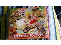 Japanese anpanman bento sushi making toy from Japan kawaii cute cartoon
