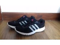Adidas black trainers size uk 5/4.5