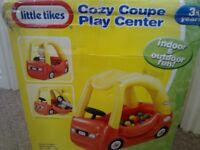 CAN DELIVER LITTLE TIKES TYKES COZY COUPE COSY CAR SHAPED KIDS INFLATABLE BALL POOL TENT WITH BALLS