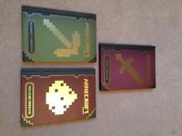 Selection of Minecraft hardback books