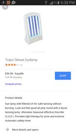 facial solarium tanning sunbed skincare