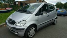 Mercedes a class 1.4 petrol 2004 full mot low mileage service history