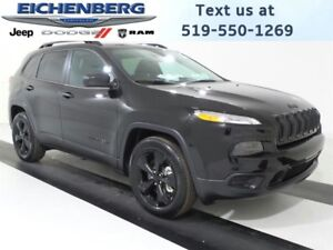 2017 Jeep Cherokee Altitude 4X4  UNDER 1, 000 KMS*