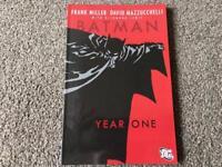 Batman Year One and Batman Venom Graphic Novels