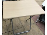 Fold up table great for camping or house