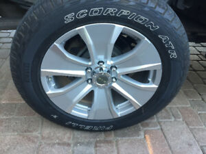 "Like new Rim & Tire Pkg - 20"" 6 Bolt Pattern"