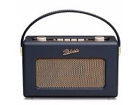 Roberts Revival RD60 DAB Radio - New - opened but never used - Navy Blue