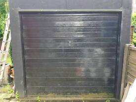 Single garage door free give away used up & over