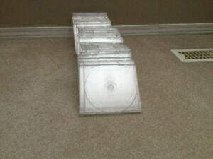Clear DVD/CD EMPTY CASES