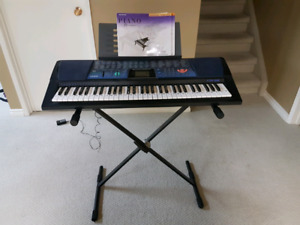 Casio Piano/Keyboard and Stand