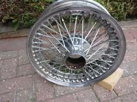 wheel for e type jaguar series 2