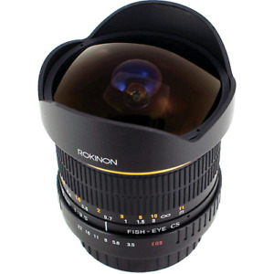 Rokinon8mm Ultra Wide Angle f/3.5 Fisheye Lens for Canon(used)