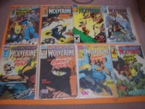 (10) MARVEL COMICS PRESENTS WOLVERINE AND GHOST RIDER