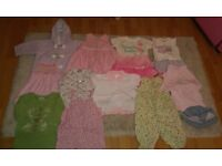 Baby girls clothes bundle. Age 3-12 months