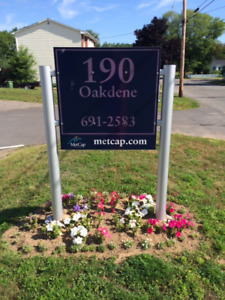 Bright, Clean & Move-In Ready 2 Bdrm @ 190 Oakdene, Kentville
